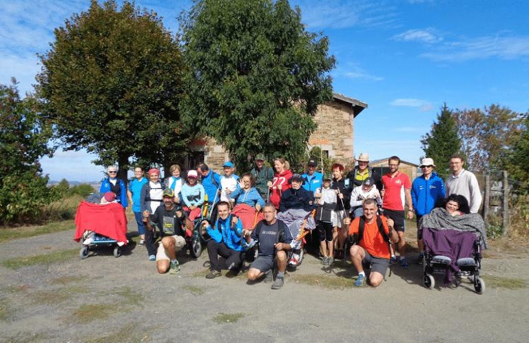 Randonnées en joëlette 2018 Trail des Coursières