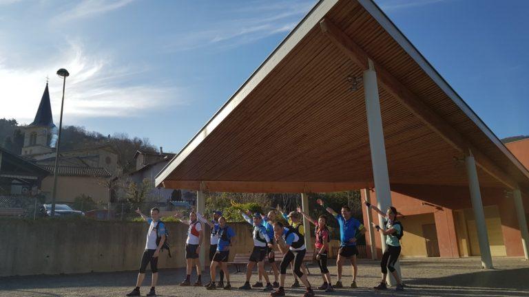 Team Trail des Coursières à Montromant