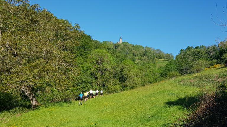 Team Trail des Coursières en dessous Rochefort