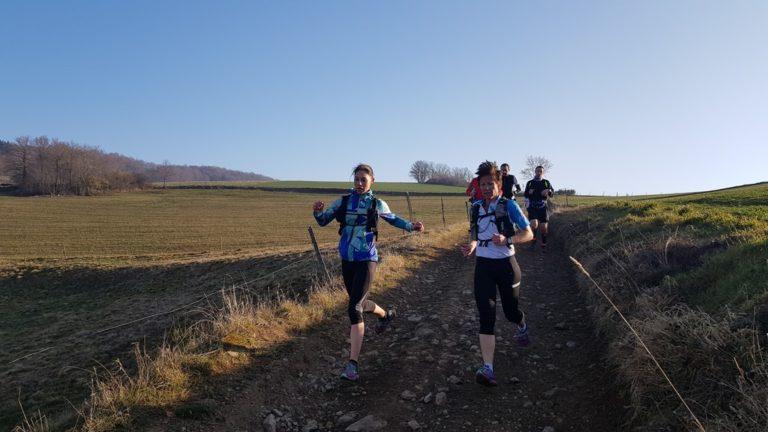 Team Trail des Coursières les filles