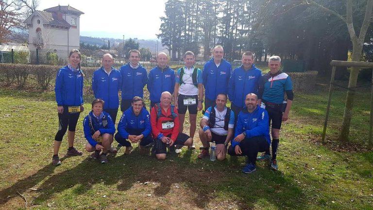 Team Trail des Coursières au trail des Salamandres Sorbiers