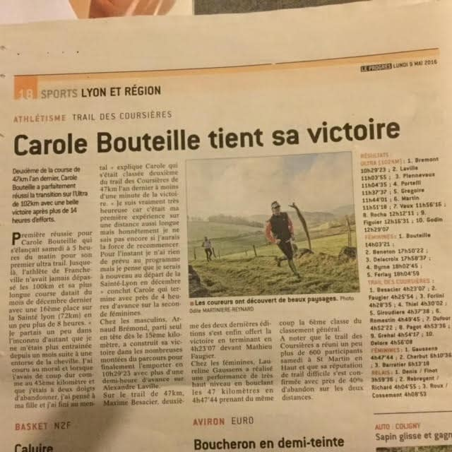 article coursieres 2016